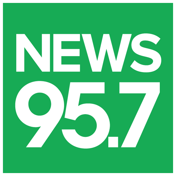 95.7 news logo