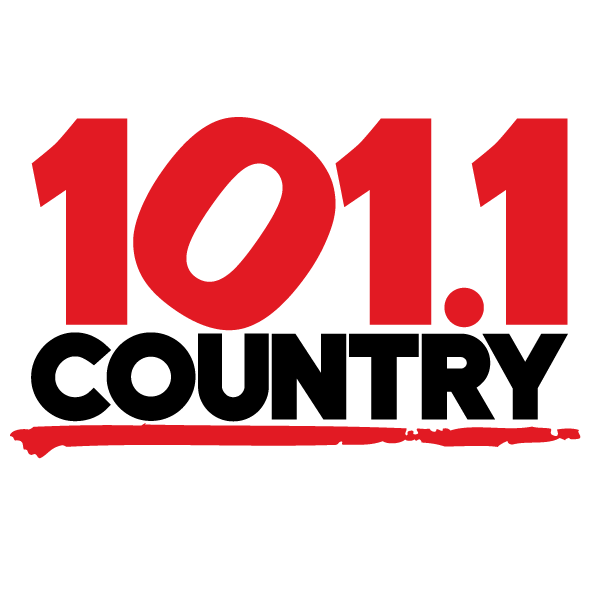 Logo 101.1 country