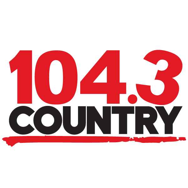 Logo 104.3 country