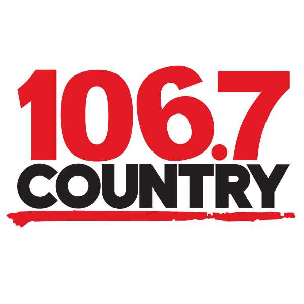 Logo 106.7 country