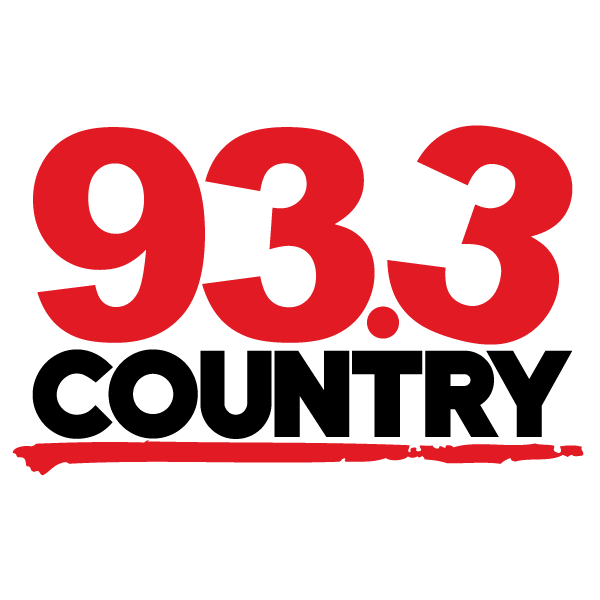 Logo 93.3 country