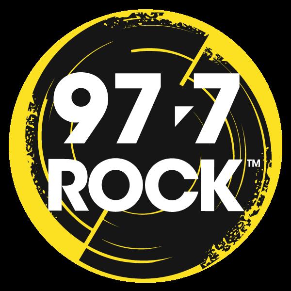 Logo 97.7 rock