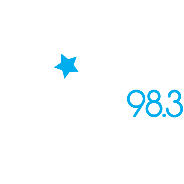 Logo 98.3 star old white2